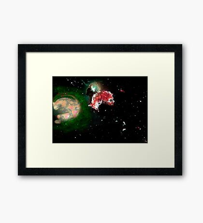 Birth of a Nebula Framed Print