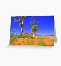 Red Centre Gums Greeting Card