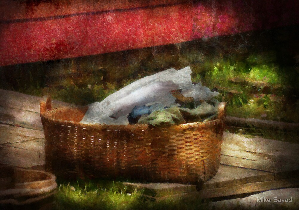 Country - Laundry  by Mike  Savad