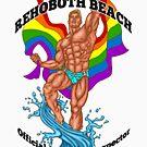 Rehoboth Beach Badeanzug Inspektor Blondes Haar von AbbottDesigns