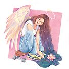 Angel  by Ellen-Drawings