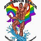 Rehoboth Beach Swimsuit Inspector Behaart von AbbottDesigns