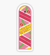 Back to the Future Hover Board Sticker