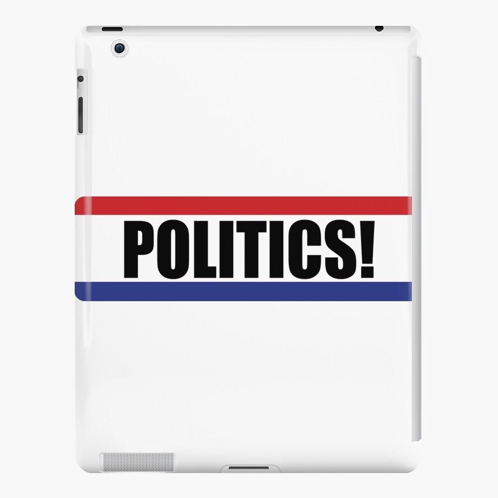 ¡Política! Funda y vinilo para iPad