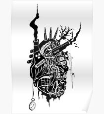 Corroded Heart Poster