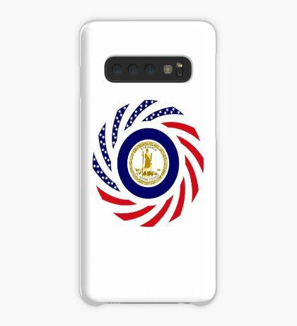 Virginian Murican Patriot Flag Series Case/Skin for Samsung Galaxy