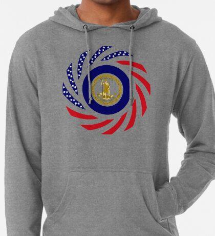 Virginian Murican Patriot Flag Series Lightweight Hoodie