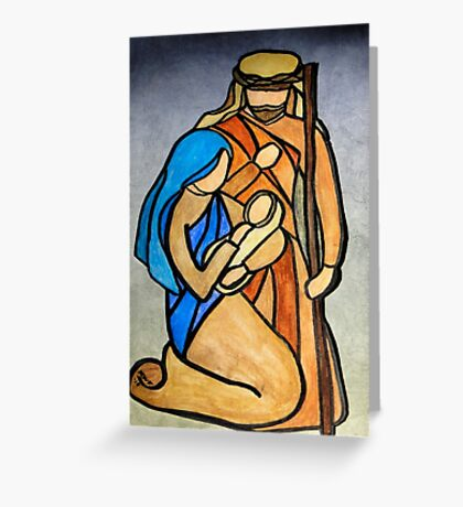 Breath of Heaven - The Holy Family Greeting Card