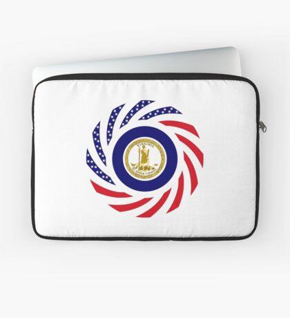 Virginian Murican Patriot Flag Series Laptop Sleeve