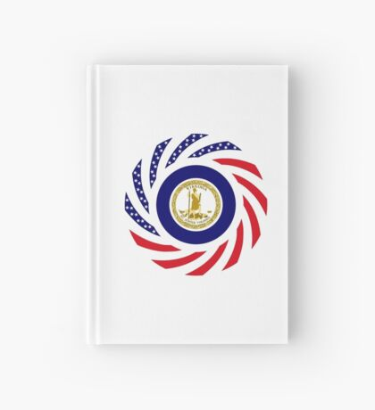 Virginian Murican Patriot Flag Series Hardcover Journal