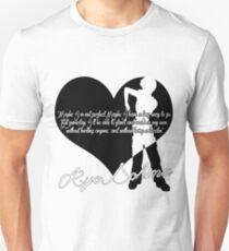 Kyo Quote Black Unisex T-Shirt