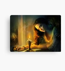 Ghost love story | Cadence of her last breath Canvas Print