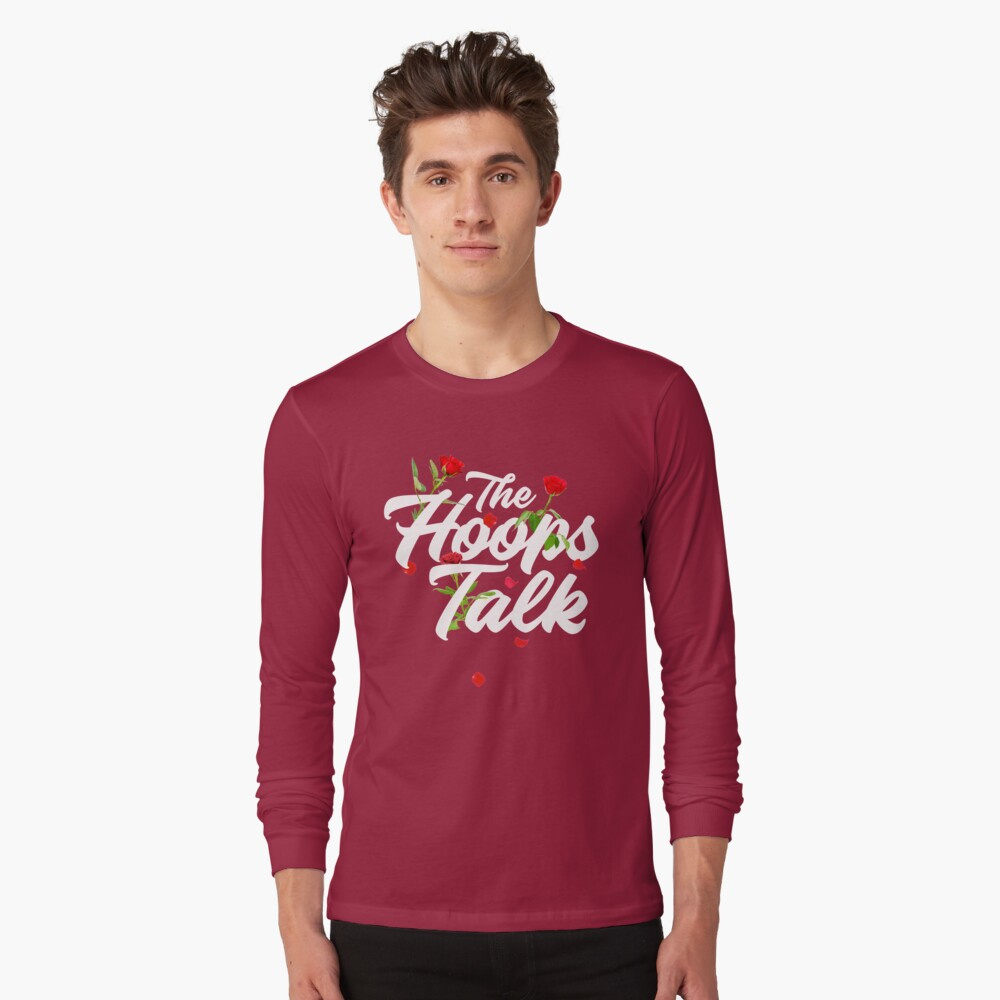 Hoops and Roses Long Sleeve T-Shirt