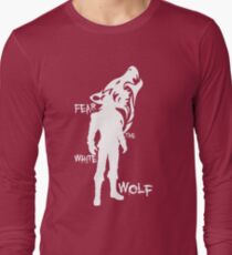 Witcher - Fear The White Wolf Long Sleeve T-Shirt