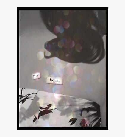 m y  h e a r t . 2 Photographic Print