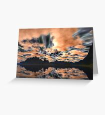 Earth Bound Greeting Card