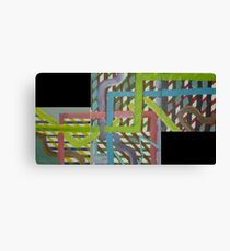 CTA Map Canvas Print