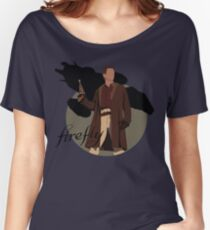 """Firefly """"Malcolm Reynolds"""" Women's Relaxed Fit T-Shirt"""