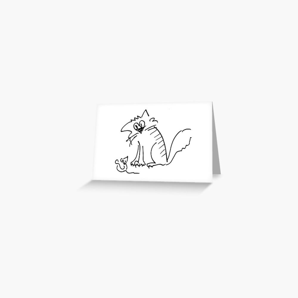 Look at me! Greeting Card