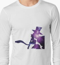 Sailor Moon Tuxedo Mask - Purple Galaxy Long Sleeve T-Shirt