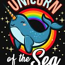 Unicorn Of The Sea: Amazing Narwhal Whale by Maria Faith Garcia