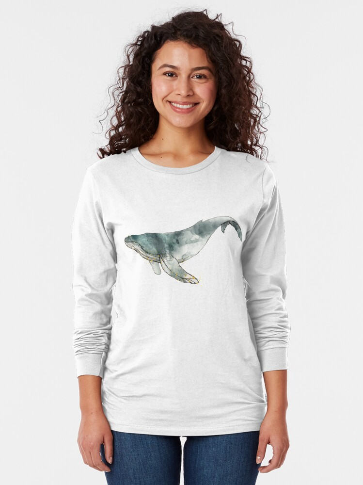 Alternate view of Humpback Whale Long Sleeve T-Shirt