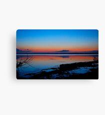 Canton Beach.Australia. (sunset) Canvas Print
