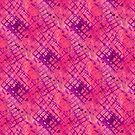 Abstract Purple Pink Grid by SpiceTree