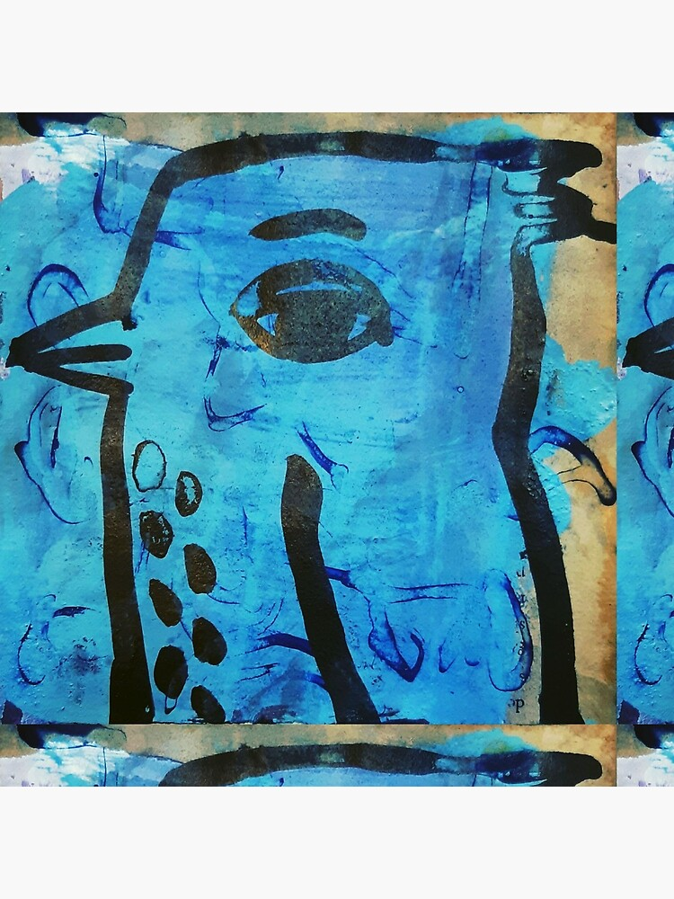 Blue bird angel by donnamalone