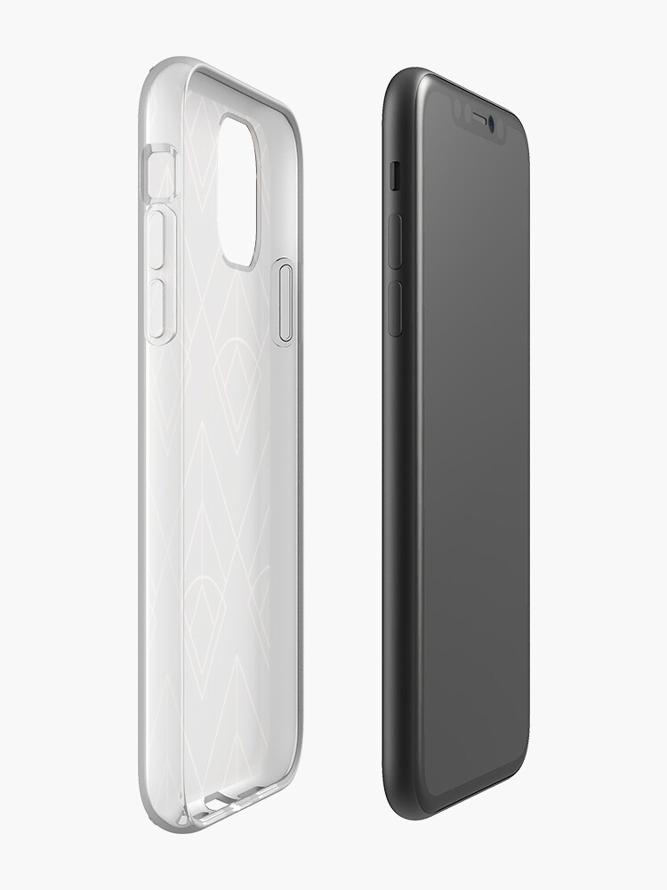 Coque iPhone « Motif Gatsby # 1 », par Spinickus
