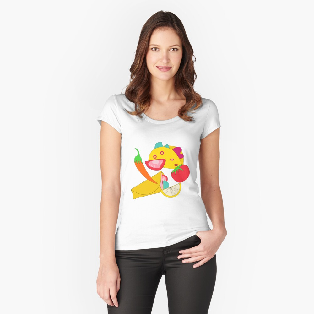 Burraco Fest Fitted Scoop T-Shirt