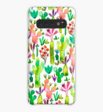 Cacti garden Case/Skin for Samsung Galaxy