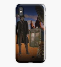 The War Doctor in Roswell iPhone Case/Skin