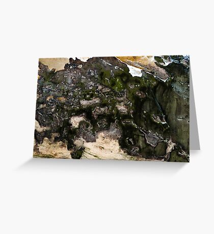 Abstract Minerals Greeting Card