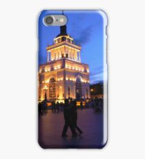 dancing............~ and darkblue sky iPhone Case/Skin