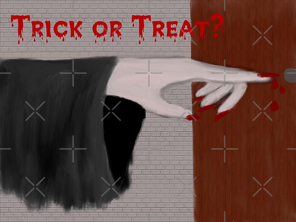 Trick or Treat - Halloween by Sandra Chung