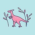 Little Pink Dinosaur by zoel