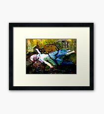 GONE TO SOON ~ OUR SWEET OPHELIA Framed Print
