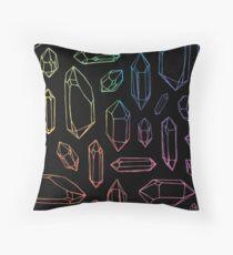 Crystal Magic. Throw Pillow