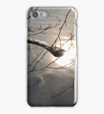 Sunset at the water iPhone Case/Skin