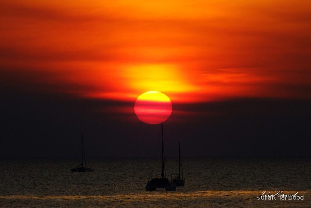 Darwin Sunset by Julia Harwood