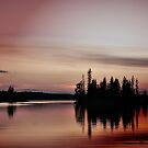 Pink Sunset, Manitoba by Vickie Emms