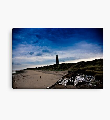 Early Morning at Spurn Point Canvas Print