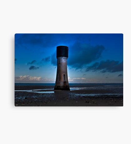Morning on the Estuary Canvas Print