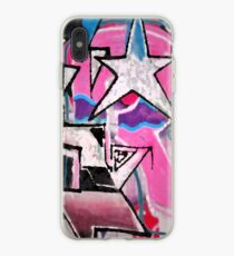 GRAFFITI POPART STREETART MIT STERN PINK iPhone-Hülle & Cover