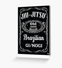 JIU-JITSU DANIELS Greeting Card