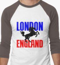 LONDON, ENGLAND Men's Baseball ¾ T-Shirt
