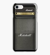 Black and gray color amp amplifier iPhone Case/Skin