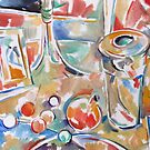 Glass Table by Tracy Sabin