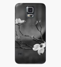 Dogwood Branch 001 BW Case/Skin for Samsung Galaxy